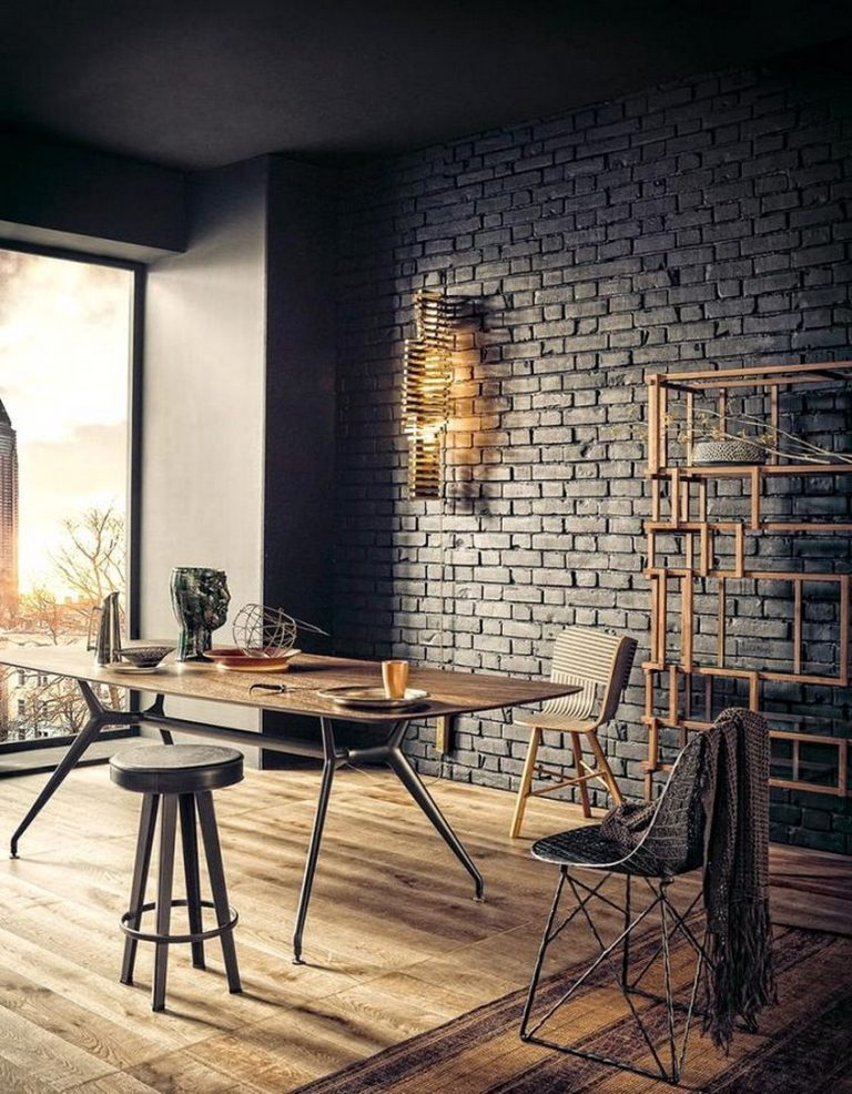 7 Wonderful Room Decorating Inspiration With Brick Walls